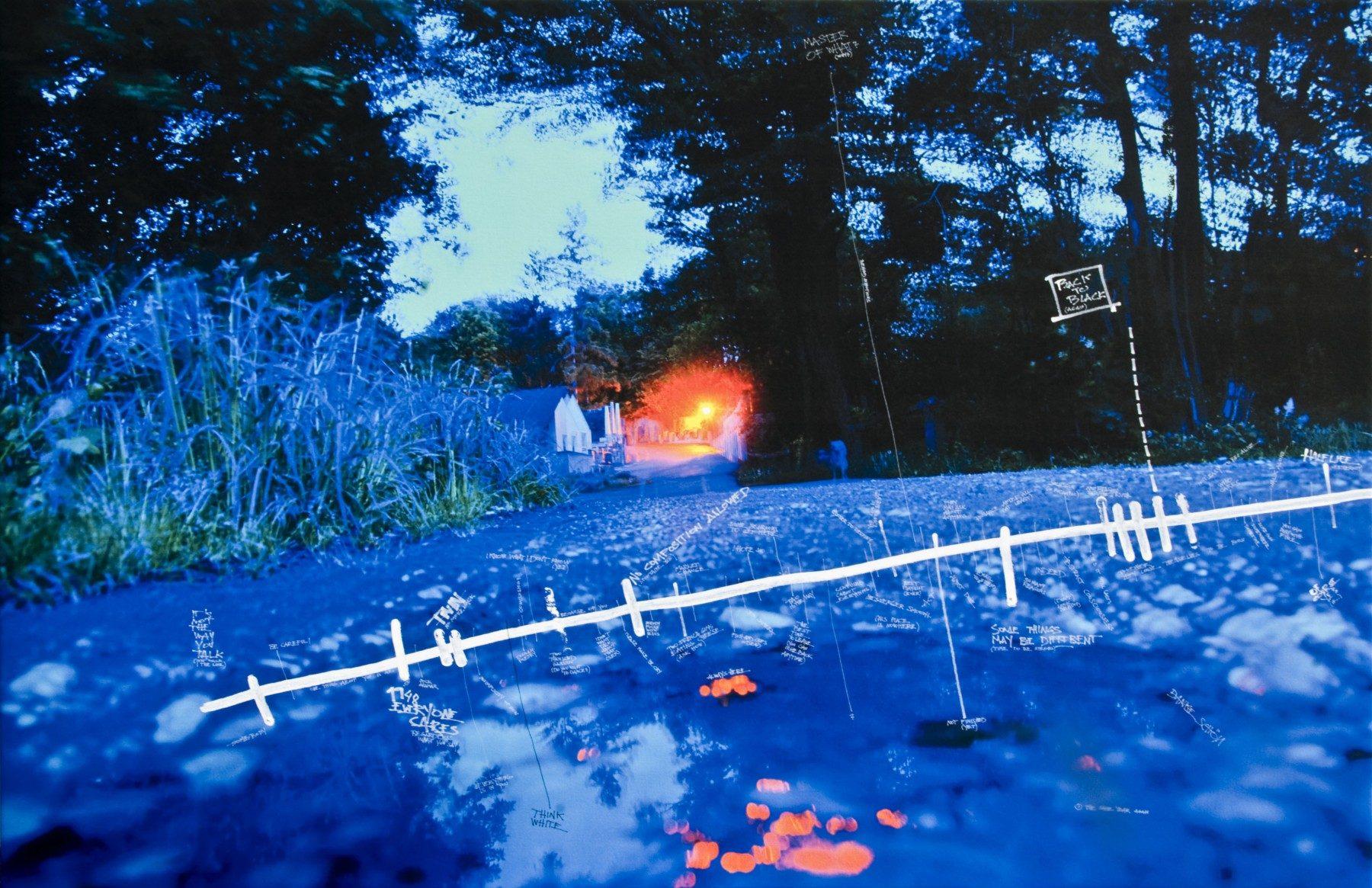HALFLIFE OF ME, 160 x 105 cm